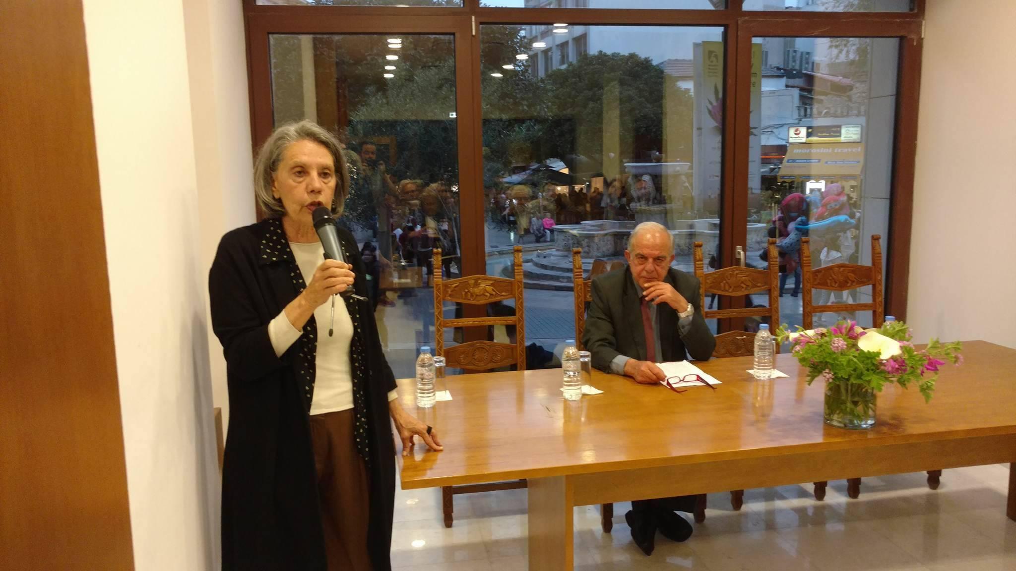 «Στόχος το βιβλιοπωλείο της Βικελαίας να γίνει εντευκτήριο για τα Γράμματα και τις Τέχνες στην πόλη μας» (pics)