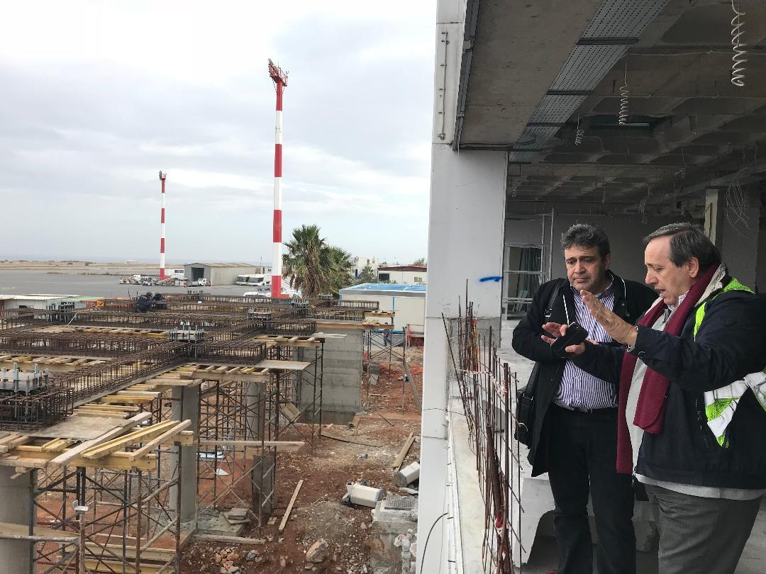 «Διασφάλιση του νυν αεροδρομίου Ηρακλείου ως στρατηγικής πύλης εισόδου εκατομμυρίων τουριστών στη χώρα μας»