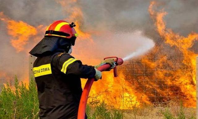 """Κρήτη: Φωτιά σήκωσε στο """"πόδι"""" τους Πυροσβέστες"""
