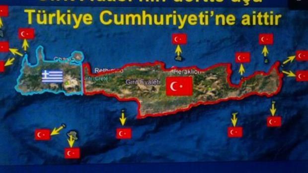 Οι Κεμαλιστές θέλουν τώρα και την Κρήτη- Νέα πρόκληση!