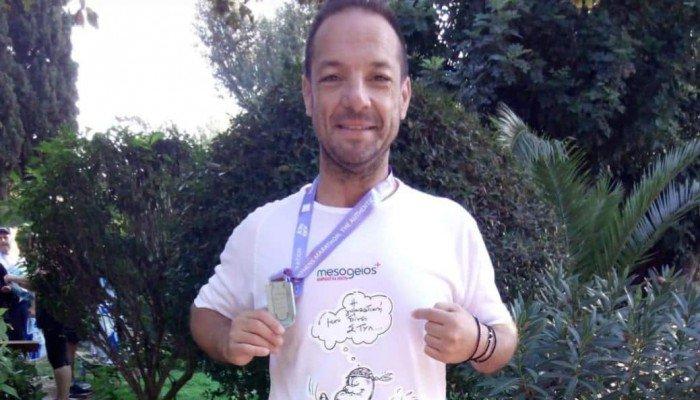 Αιμοκαθαιρόμενος αθλητής συμμετείχε στον 36ο Αυθεντικό Μαραθώνιο Αθηνών