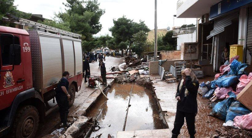 Τρεις αγνοούμενοι, τέσσερις μέρες μετά τις πλημμύρες στη Μάνδρα - 19 οι νεκροί