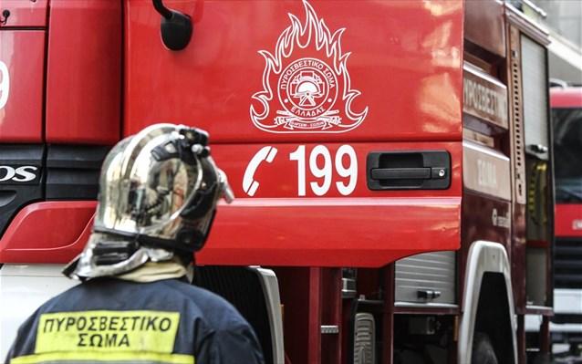 Συναγερμός για φωτιά σε σπίτι στα Χανιά