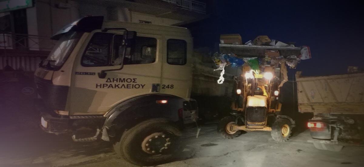 """Το Ηράκλειο κινδυνεύει να """"πνιγεί"""" στα σκουπίδια"""