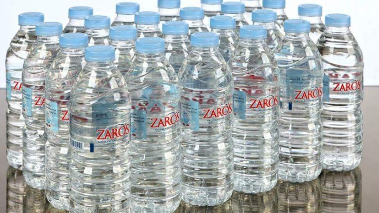 Το ZARO'S στη λίστα με τα 80 καλύτερα εμφιαλωμένα νερά του κόσμου !
