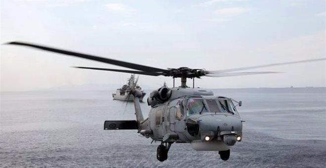 Μεταφορά αποκλεισμένων ασθενών από την Κύμη με ελικόπτερο του Π.Ν.