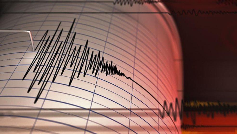 Ισχυρός σεισμός σήμερα στη θαλάσσια περιοχή της νότιας Κρήτης