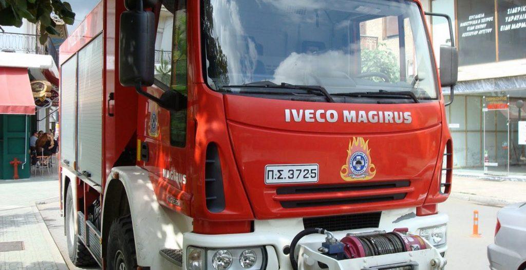 Φωτιά σε ΙΧ στο Ηράκλειο