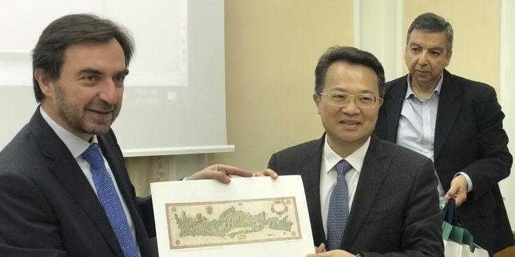 Κινέζικη αντιπροσωπεία στην… Κρήτη