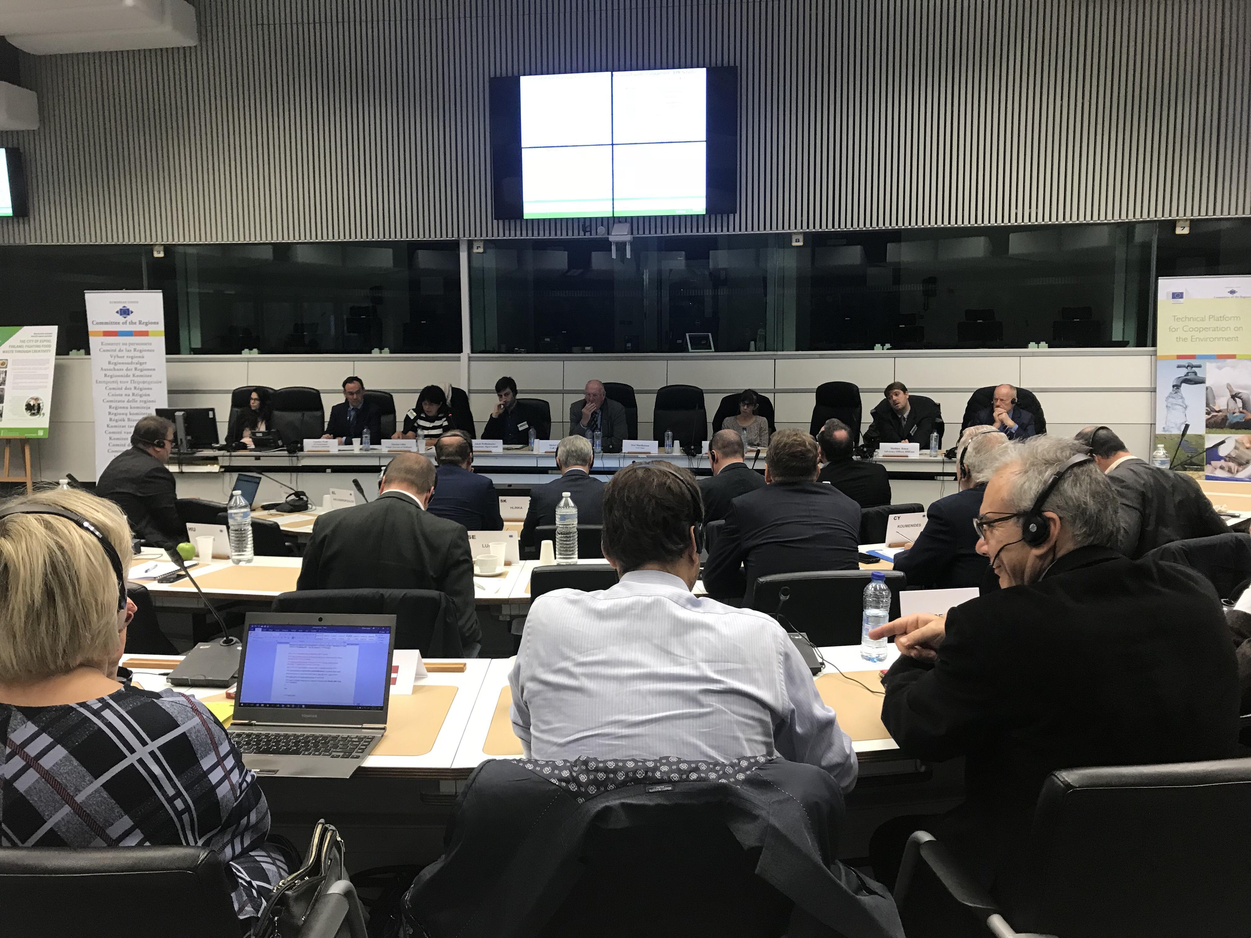 Στις Βρυξέλλες το σχέδιο διαχείρισης στερεών αποβλήτων του Δήμου Ηρακλείου