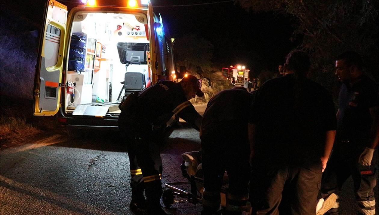Τροχαίο δυστύχημα στην Ιεράπετρα: Νεκρός ο οδηγός αγροτικού