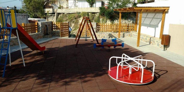 Εγκαινιάζεται παιδική χαρά στο Ηράκλειο