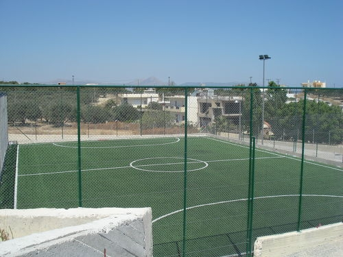 Ανακαινίζονται οι ανοιχτοί αθλητικοί χώροι του Ηρακλείου