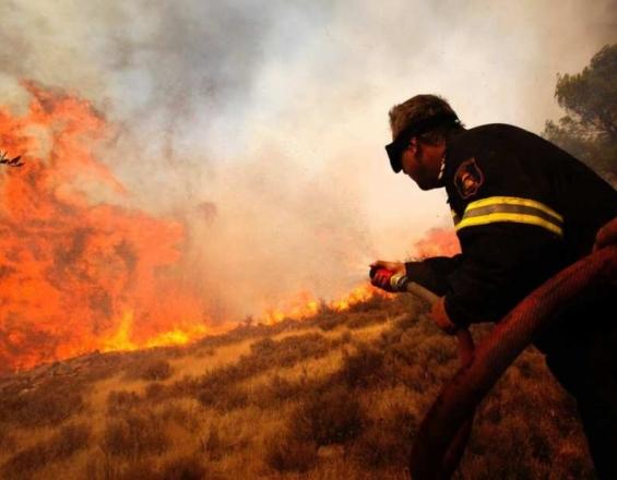 Υψηλός ο κίνδυνος πυρκαγιάς στην Κρήτη σήμερα Κυριακή