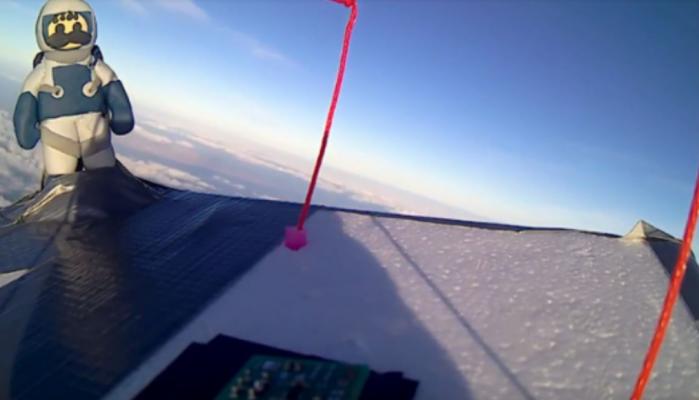 """Βίντεο απ'την πρώτη πτήση του κρητικού Αστροναύτη """"Μανούσου"""""""