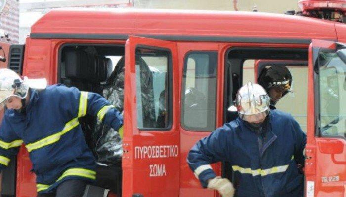 Λεωφορείο έπιασε φωτιά λίγο πριν τη Νεάπολη Λασιθίου!