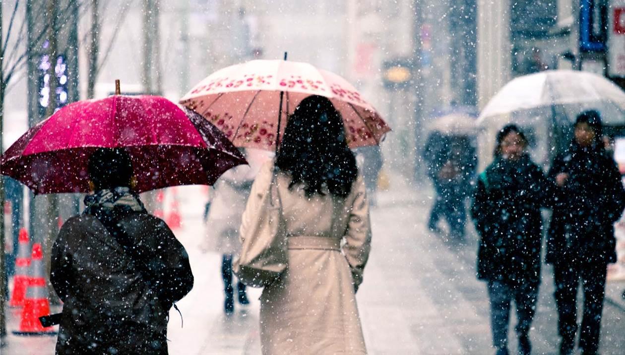 Στο έλεος της κακοκαιρίας η Κρήτη, με χιόνια, καταιγίδες και θυελλώδεις βοριάδες-Αναλυτική πρόγνωση
