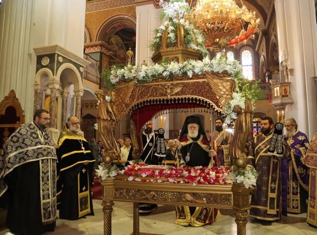Πως θα γίνει φέτος η περιφορά του Επιταφίου του Αγίου Μηνά