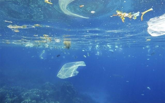 Τόνοι πλαστικών στις θάλασσες της Κρήτης (χάρτης)