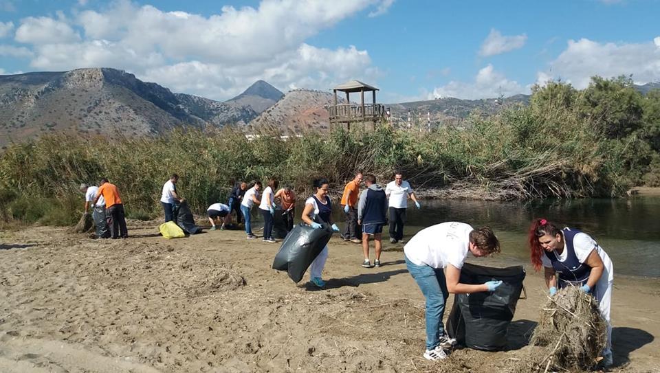 Καθαρισμοί ποταμών στην Αμμουδάρα