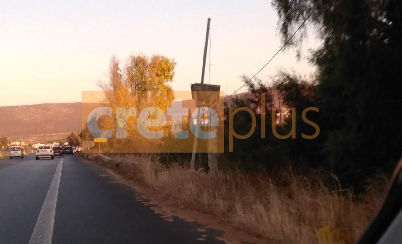 Σμπαραλιασμένη η κάμερα στο ΒΟΑΚ- Εχει τεθεί εκτός λειτουργίας (pics)