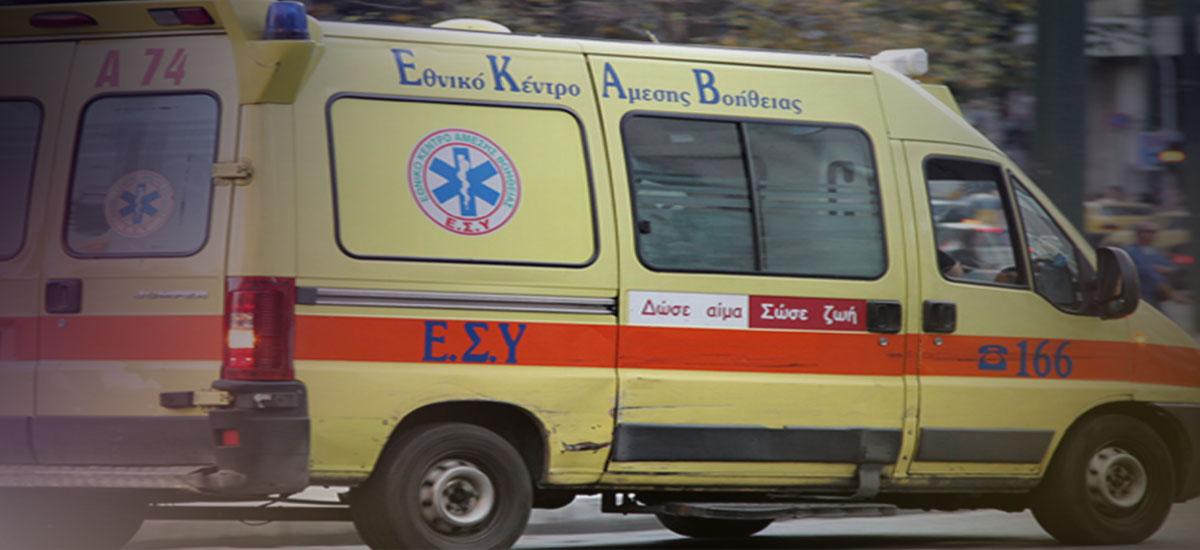 Τροχαίο ατύχημα με θύμα δικυκλιστή στο κέντρο του Ηρακλείου