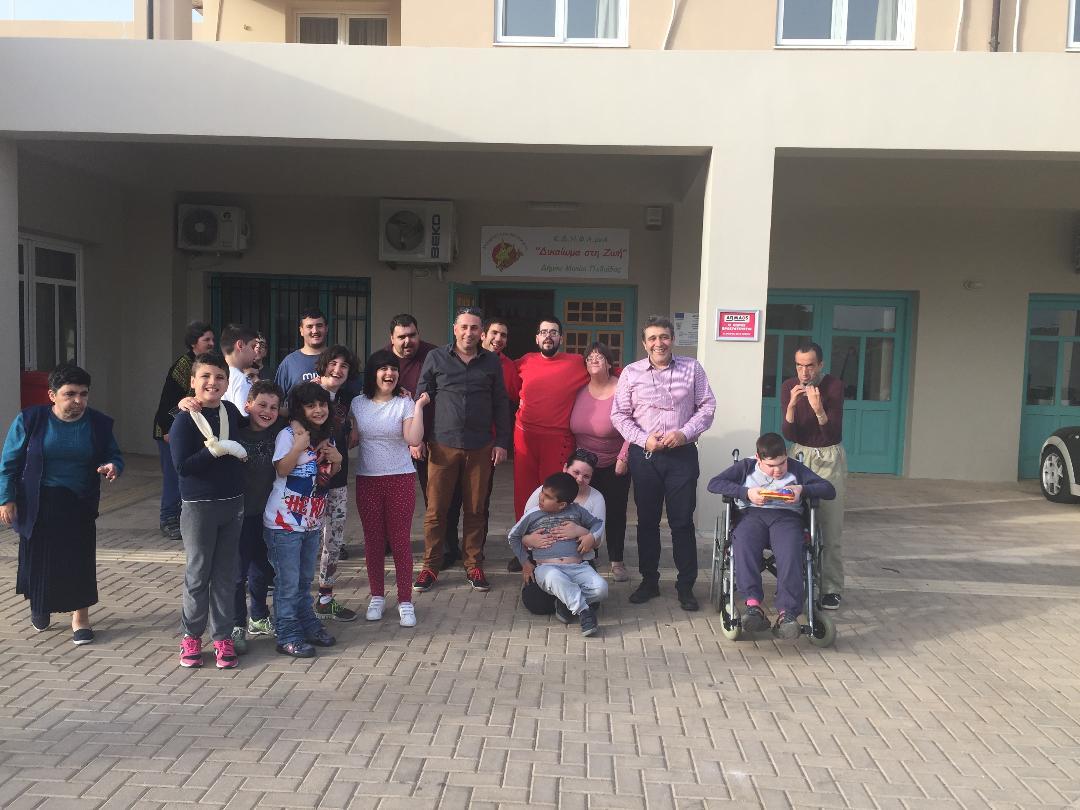 «Επιτέλους, παραχωρείται το ακίνητο στα Κελιά για τις ανάγκες παιδιών και ενηλίκων με Αναπηρία»