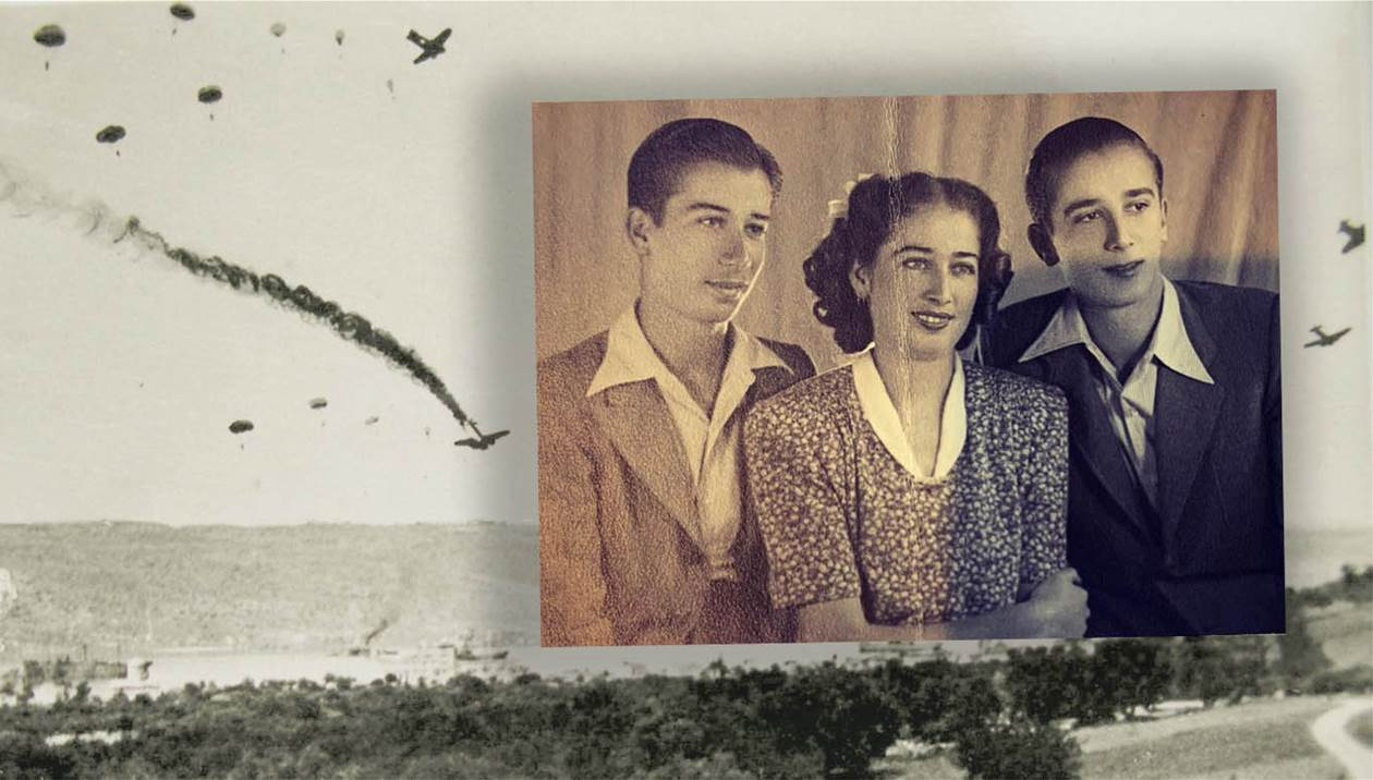 Νεοζηλανδή γνώρισε τον Κρητικό που έσωσε τον παππού της από τους Γερμανούς