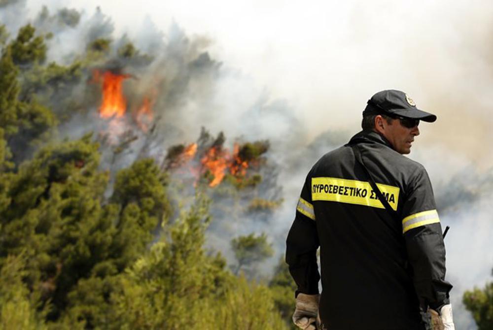 Προσοχή: Πολύ υψηλός κίνδυνος για πυρκαγιά στην Κρήτη