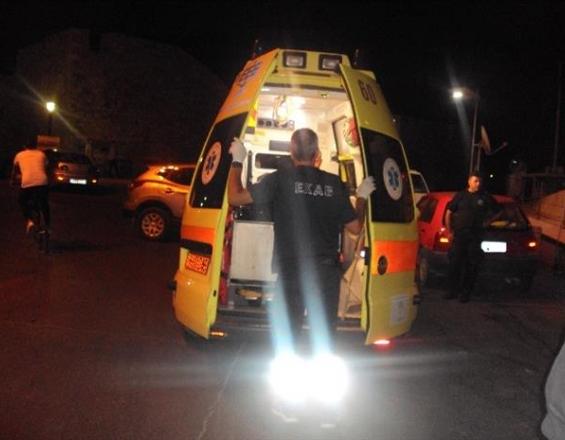 Κρήτη: Εγκλωβίστηκε στο αυτοκίνητο, μετά το τροχαίο