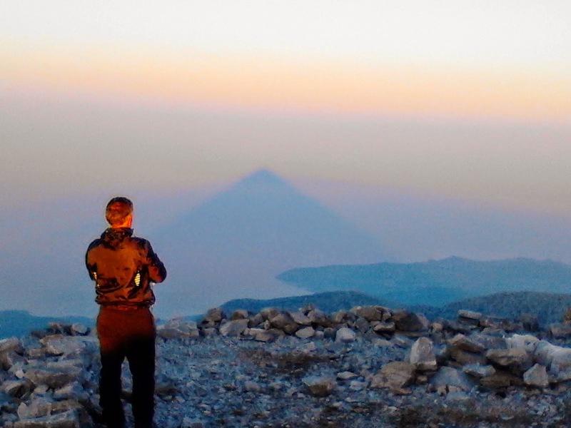 Η επιβλητική πυραμίδα που είναι ορατή από την Κρήτη - Ένα θέαμα γεμάτο μυστήριο (pics)