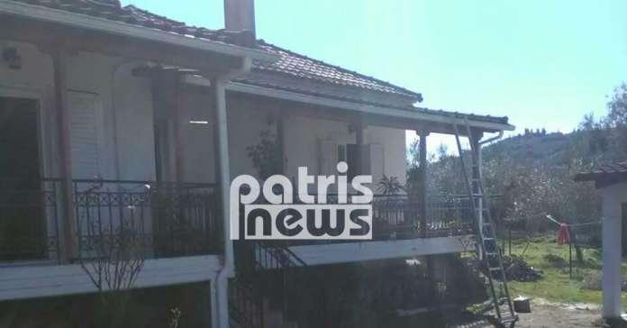 Ηλεία: Έβγαλαν ανάπηρη από το παράθυρο από φωτιά σε οικία-Εικόνες