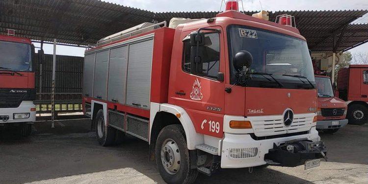 Πυρκαγιά σε σπίτι στην Ιεράπετρα – Έσκασε φιάλη υγραερίου