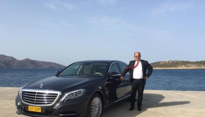 O Κρητικός αυτοκινητιστής με το ταξί των 160.000 ευρώ