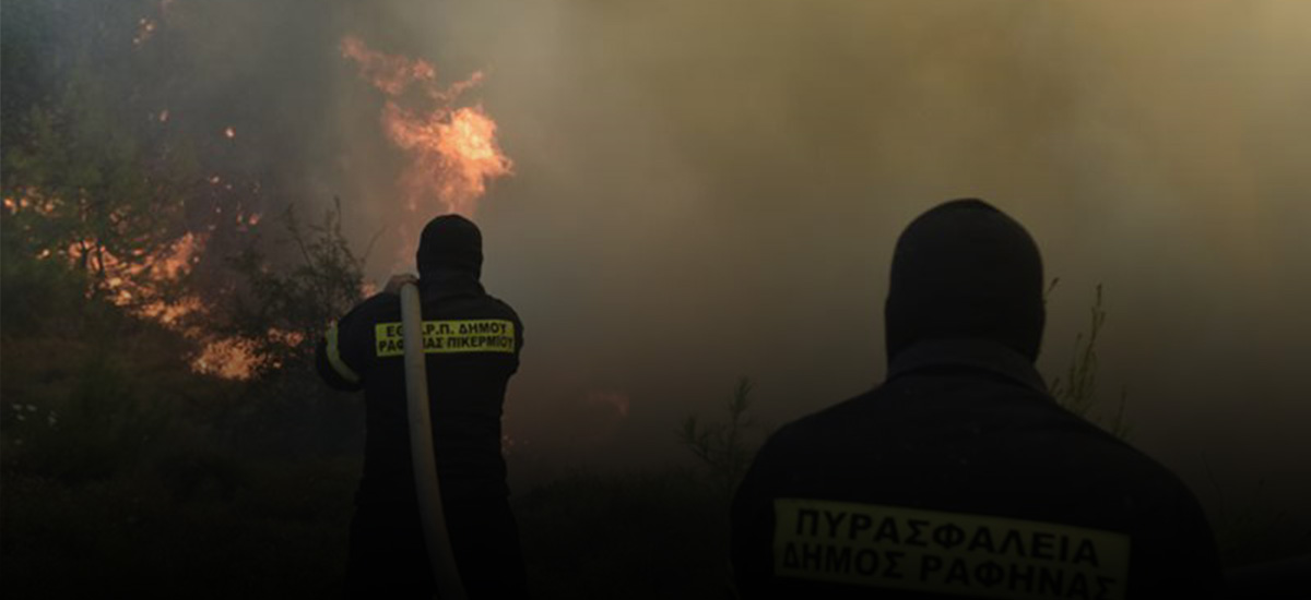 Από τη μια φωτιά στην άλλη έτρεχαν οι πυροσβέστες στο Ηράκλειο