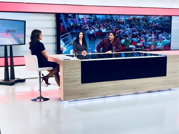Ο Γ. Σπαλιάρας στη ΚΡΗΤΗ TV για το Ρεθεμνιώτικο Καρναβάλι
