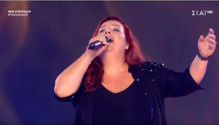 Κρητικιά από τον γάμο της πήγε κατευθείαν στο The Voice! (βίντεο)