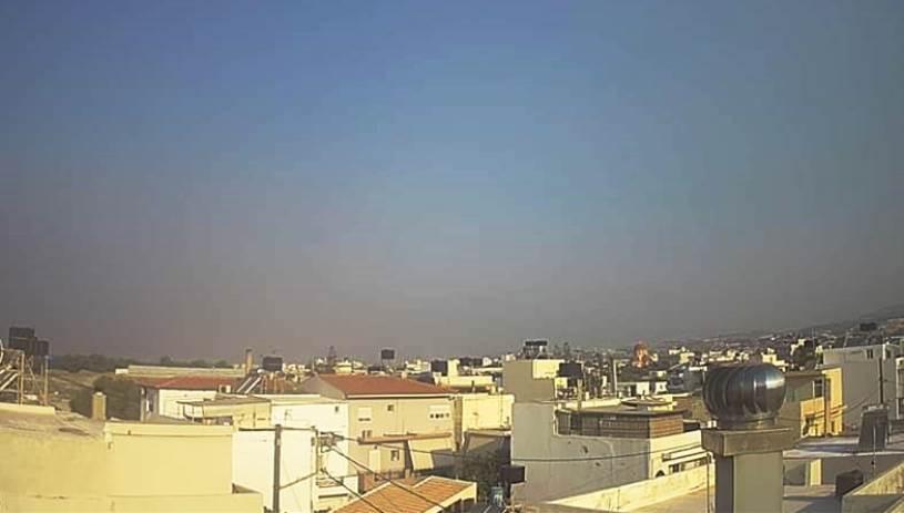 Μέχρι την Κρήτη ο καπνός από τη μεγάλη φωτιά στην Τουρκία