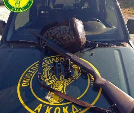 Είχαν πάει για παράνομο κυνήγι στην Κίσσαμο