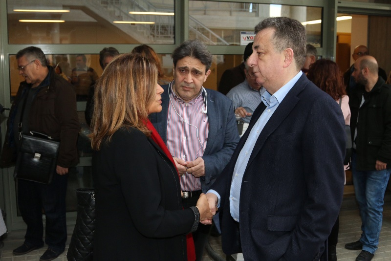 Συνεργασία και εμπιστοσύνη ζήτησε ο Περιφερειάρχης Κρήτης από την Υπουργό (pics)