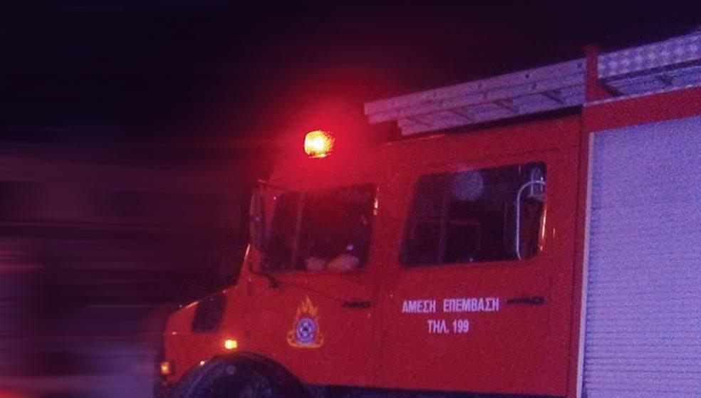 Έκρηξη σε καφενείο προκάλεσε φωτιά & μεγάλες ζημιές