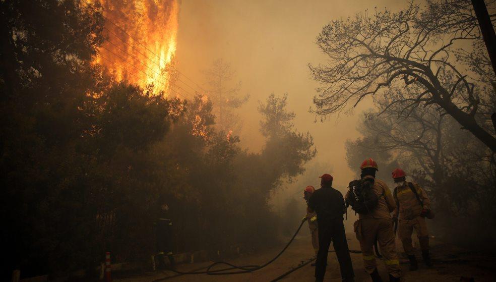 Ξέσπασε φωτιά - Συναγερμός στην πυροσβεστική