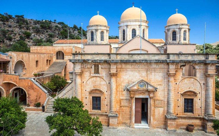 Μονή Τζαγκαρόλων, ένα από τα σημαντικότερα μοναστήρια της Κρήτης.