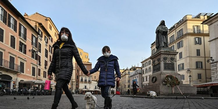 Ο εφιάλτης του κορωνοϊού συνεχίζεται στην Ιταλία: 189 νέοι θάνατοι