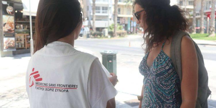 Οι Γιατροί Χωρίς Σύνορα στο Ηράκλειο