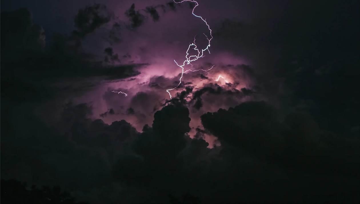 27.000 κεραυνοί, μεγάλα ύψη βροχής και 38 βαθμοί στην Κρήτη