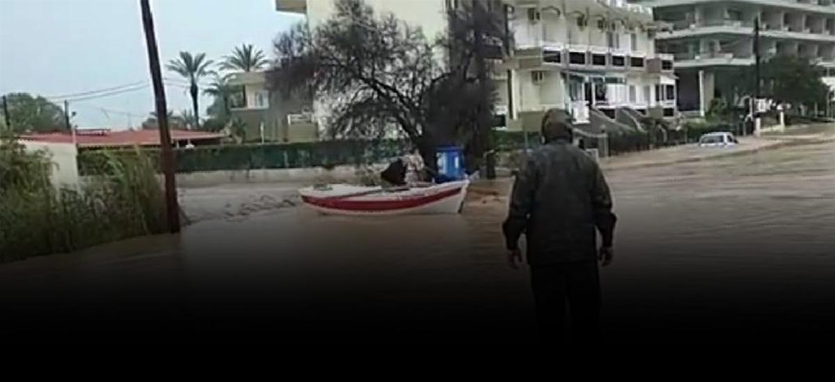 Λασίθι: Κινδύνευσαν έντεκα συνολικά άτομα από τις πλημμύρες