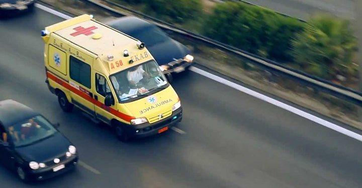 Στο νοσοκομείο ζευγάρι ηλικιωμένων μετά από τροχαίο