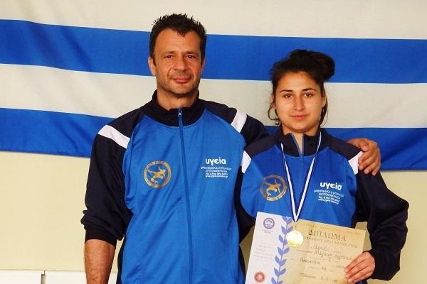 Πρωταθλήτρια Ελλάδος η Αγγελική Αλεξάκη από το Ηράκλειο
