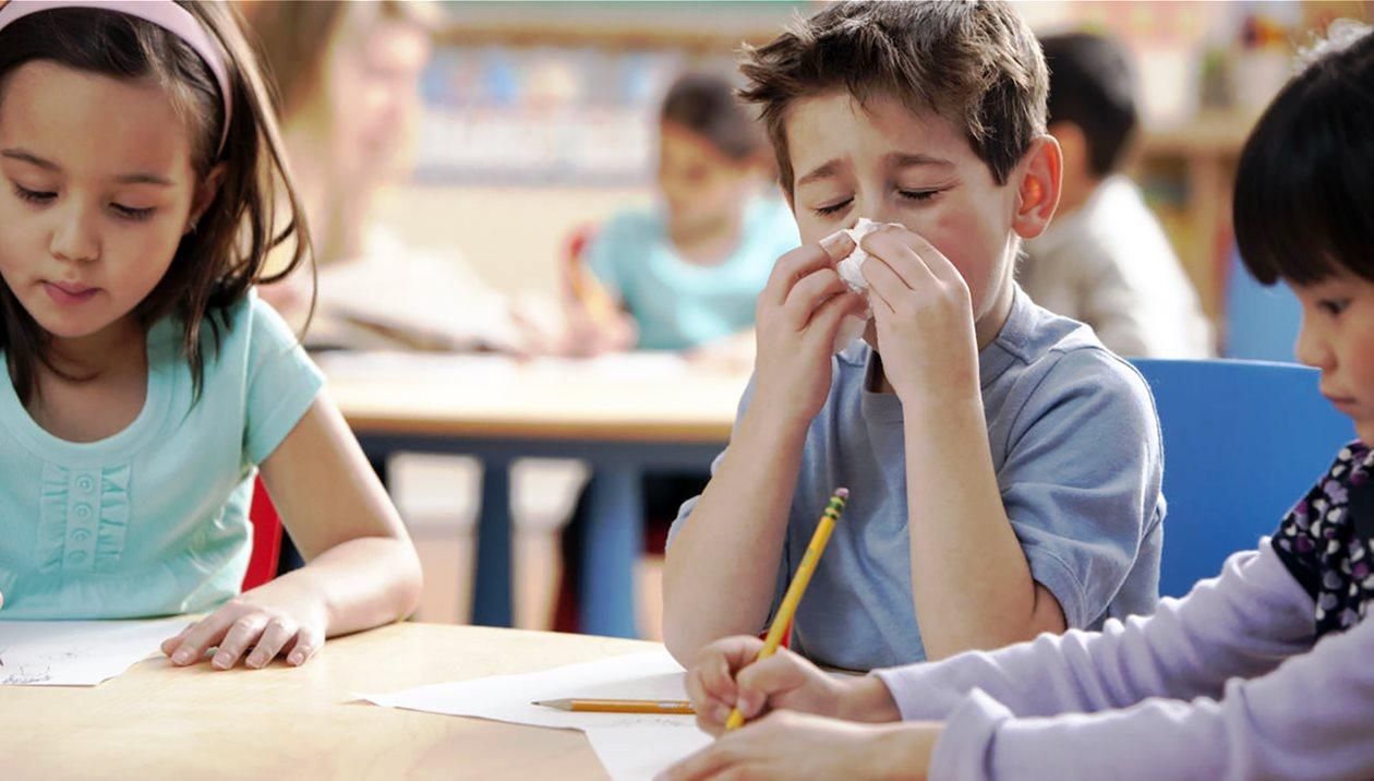 Γρίπη και σχολείο: Πως προστατεύονται οι μαθητές της Κρήτης;